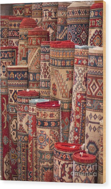Turkish Carpets Wood Print