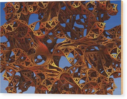 Twister II Wood Print