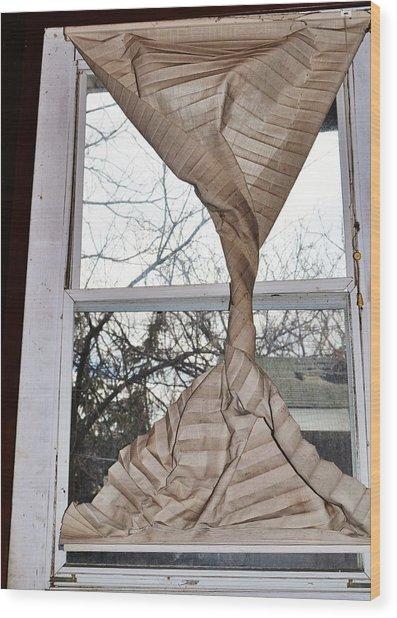 Twister Wood Print by Todd Sherlock