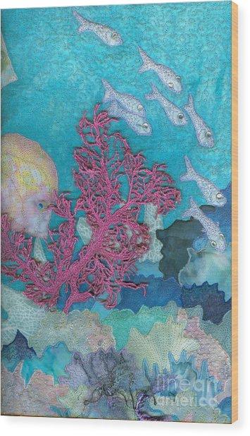 Underwater Splendor I Wood Print