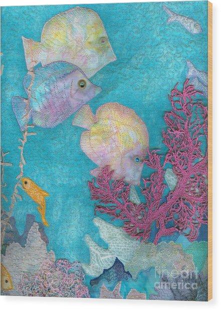 Underwater Splendor IIi Wood Print