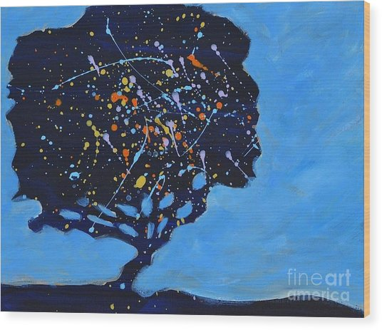 Universial Tree Wood Print