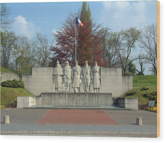 Verdun World War I Memorial Wood Print