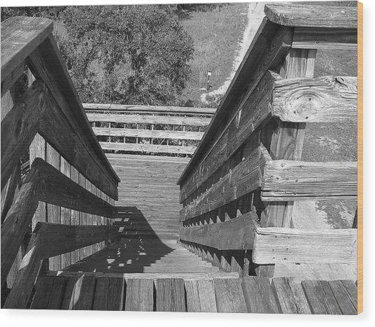 Vertigo Exit Wood Print