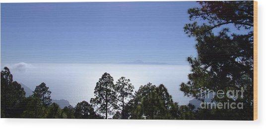 View Of Tenerife Wood Print