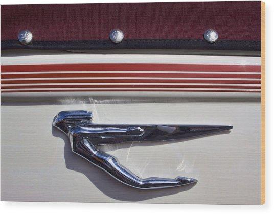 Vintage Auburn Automobile Mascot Wood Print