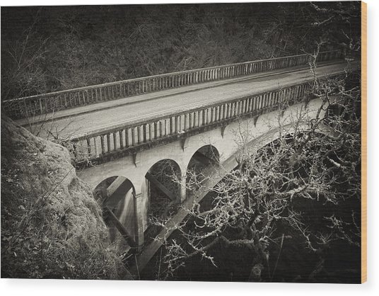 Vintage Bridge Wood Print