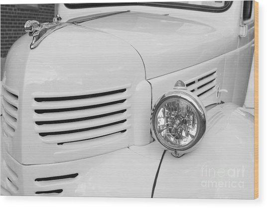 Vintage Classic Car Wood Print