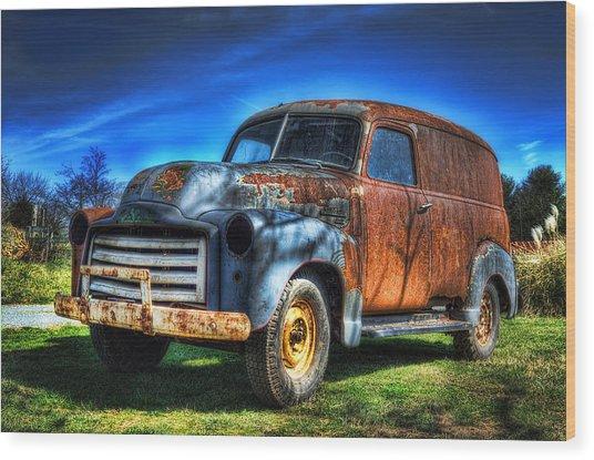 Vintage Gmc Wood Print