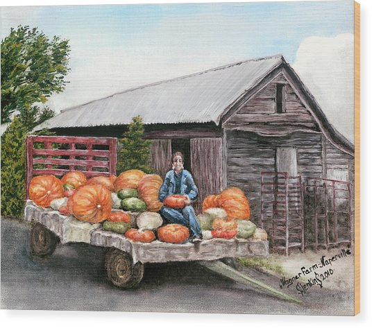 Wagner Farm Naperville Illinois Wood Print