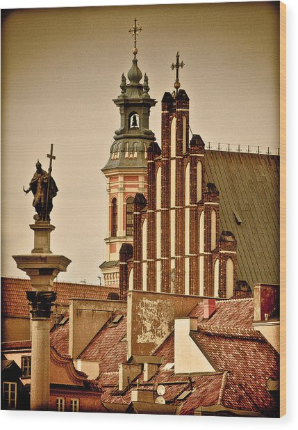 Warsaw Wood Print