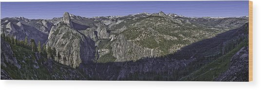 Washburn Point Outlook Wood Print by Nathaniel Kolby