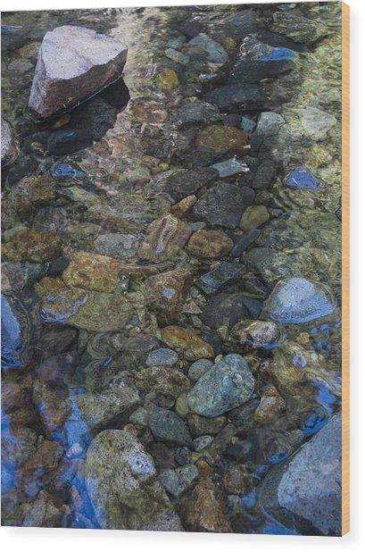 Water Colors Wood Print