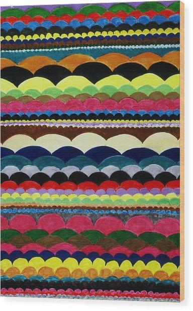Weaving Wood Print