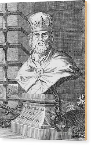 Wenceslaus (1361-1419) Wood Print by Granger