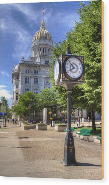 Westmoreland County Courthouse Wood Print