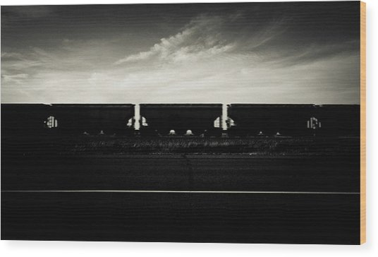 Westward Bound Wood Print