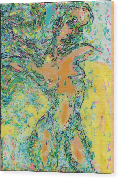 Wind Dancer Wood Print by Allen Vandever