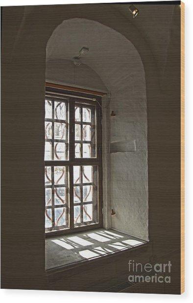 Window Sobor Wood Print