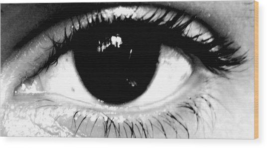 Window To My Soul Wood Print by Jason Michael Roust