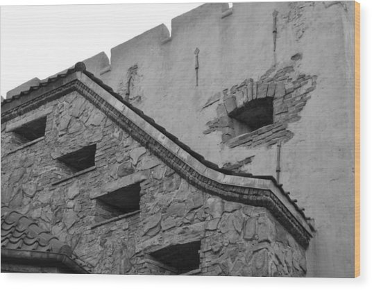 Windowed Wall Wood Print