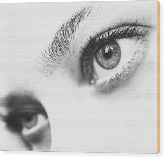 Windows To The Soul Wood Print