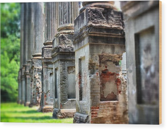 Windsor Ruins 1 Wood Print