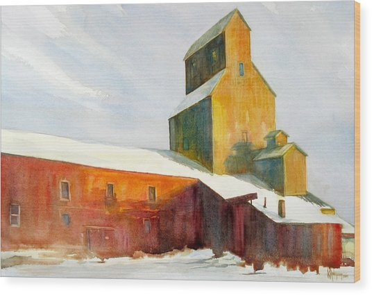 Winter Solstice Gift Wood Print