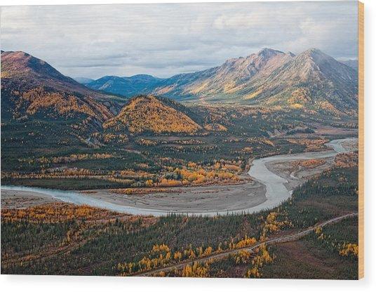 Wiseman Alaska Wood Print