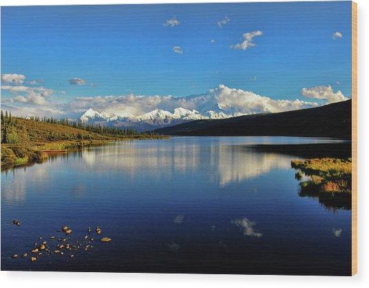 Wonder Lake II Wood Print