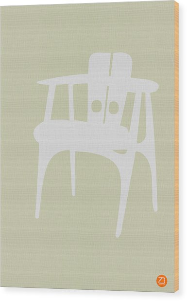 Wooden Chair Wood Print