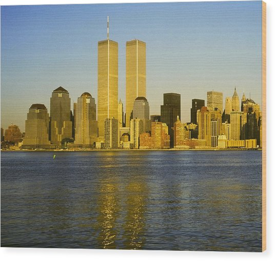 World Trade Center 1987 Wood Print