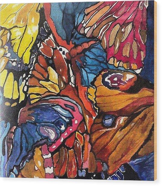 Butterflies Wings........ Wood Print