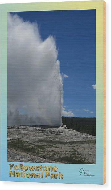 Yellowstone Np 005 Wood Print by Charles Fox