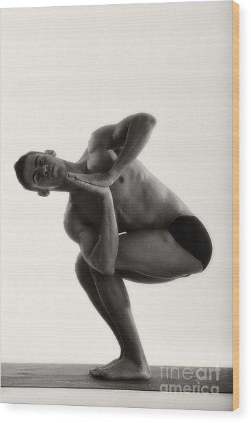 Yoga IIi Wood Print