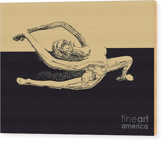 Yoga Number Two Wood Print