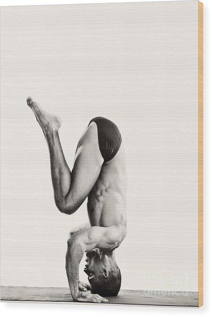 Yoga Vii Wood Print