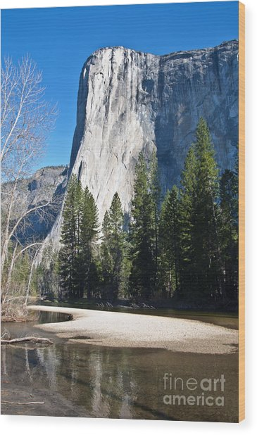 Yosemite Beauty Wood Print