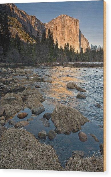 Yosemite  Wood Print by Howard Knauer