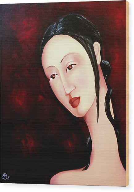 Zen 2010 Wood Print by Simona  Mereu