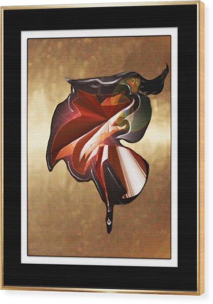 ' Spanish Dancer ' Wood Print