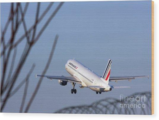 Air France Airbus A320 - Msn 491-002 - F-gjvw  Wood Print