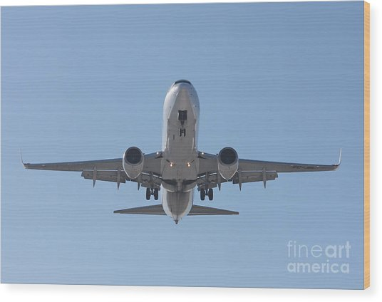 Aireuropa - Boeing 737-85p - Ec-jbl  Wood Print