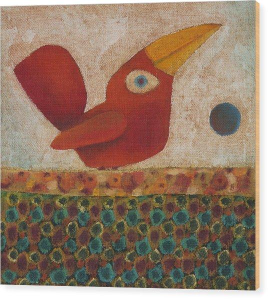 Barba Ruiva - Red Beard Wood Print by Rogerio Dias
