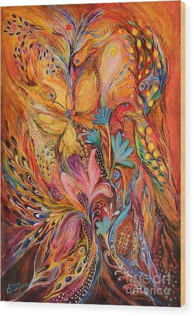 The Flowering Wood Print by Elena Kotliarker