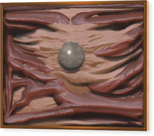'the Magic Pearl' Wood Print