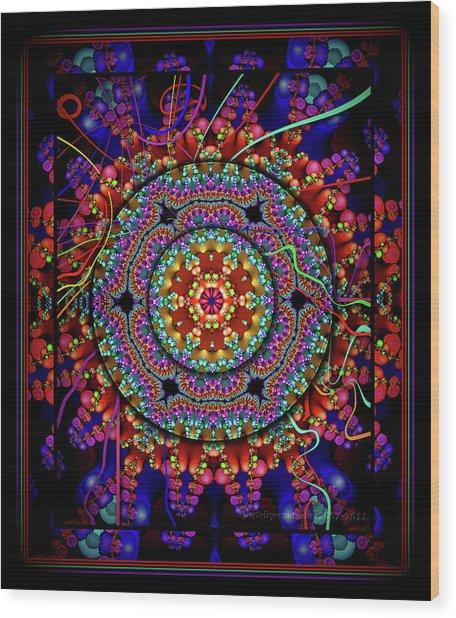 003 - Mandala Wood Print