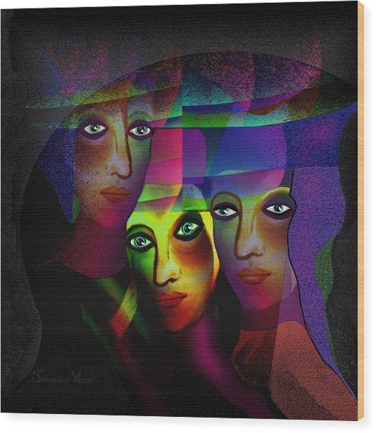 008   Sisters In Pride A Wood Print