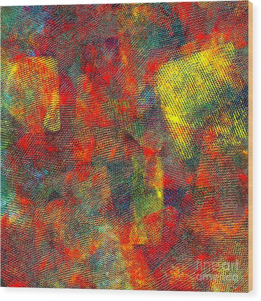 0786 Abstract Thought Wood Print