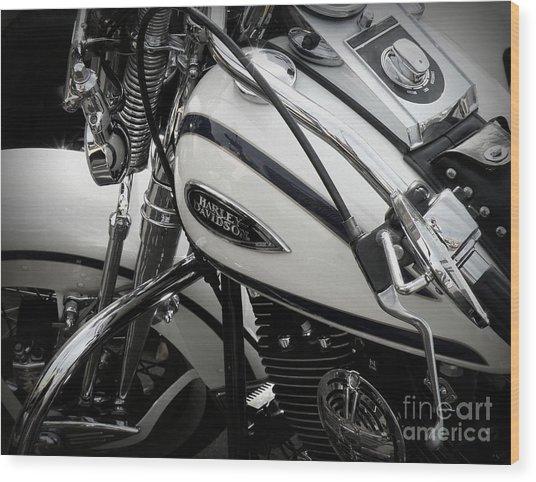 1 - Harley Davidson Series  Wood Print